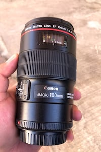 Canon 100MM MACRO L Lens with image stabilizer ultrasonic  Santa Monica