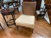 WING-BACK WOOD ARMCHAIRS Dollard-des-Ormeaux