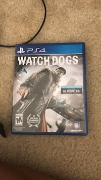 Watch Dogs PS4 game case Alexandria, 22304