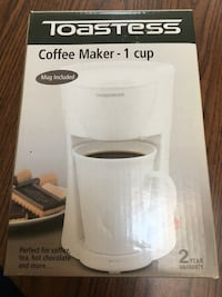 Toastess 1 Cup Coffee Maker Freehold, 07728