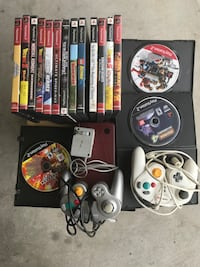 16 PlayStation 2 games. One XL Nintendo. And 2 games cube control  Alhambra, 91801