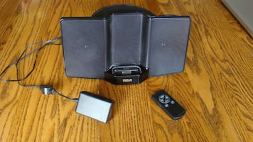 Portable Speaker System for IPod (RCA)
