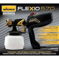 NEW Wagner 0529116 Flexio 570 Interior/Exterior Handheld Paint Sprayer Springfield, 22151