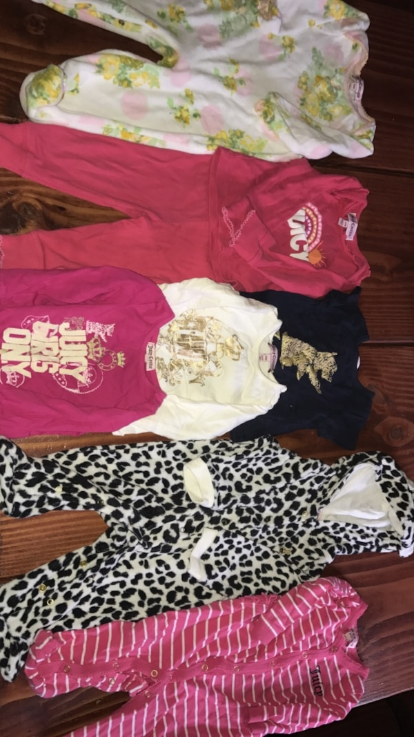 d3daed11f Used Juicy Couture baby girl clothes all for $30 for sale in Paterson -  letgo