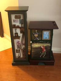 Golf themed cabinet and wine rack   Coquitlam, V3K 6G7