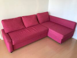 Moving  Sale: IKEA Corner sofa-bed