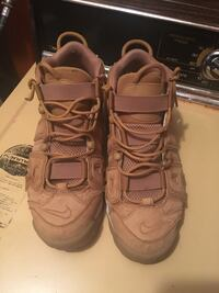 Pair of tan Uptempos  Washington, 20024