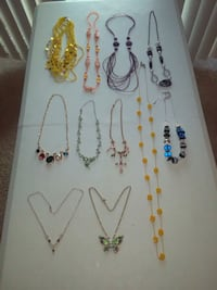 11 Beautiful Necklaces ( price for All ) Gaithersburg