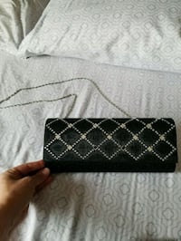 black and white leather wallet Calgary, T3M 1Z4