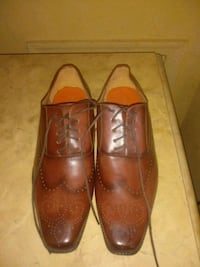pair of brown leather dress shoes Hyattsville, 20784