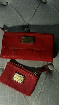 "New Fossil ""Emory"" wallet and Coin purse"
