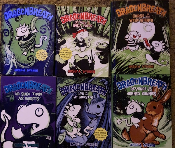 Used DragonBreath 2nd-3rd grade Books 1-6 for sale in Frisco
