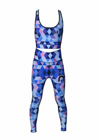 women's blue-and-pink sports bra and leggings Gaithersburg, 20878