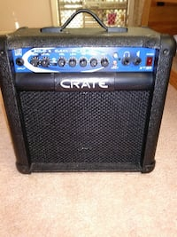 black and blue Crate guitar amplifier Virginia Beach, 23464