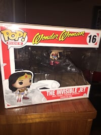 Funko POP! Rides~VAULTED Invisible Jet with Wonder Woman Toronto, M1E 1G5