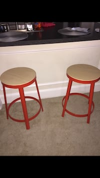 TWO bar stools from pier one; perfect condition McLean