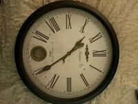 round wall clock Vancouver, V6T 1Z1