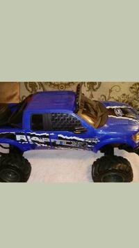 blue and black Ford F-150 Raptor toy Fairfax, 22032