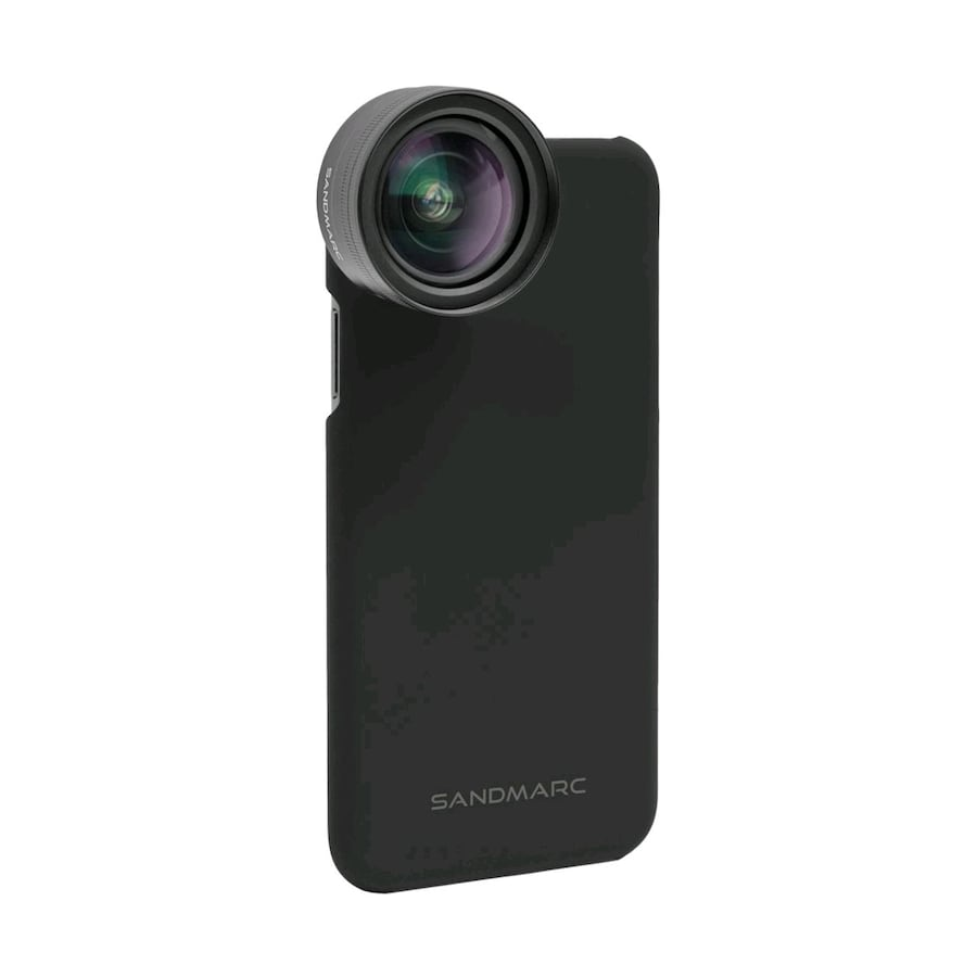 Wide angle camera lens for iPhones