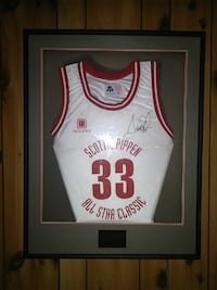 Scottie Pippen all Star basketball classic jersey