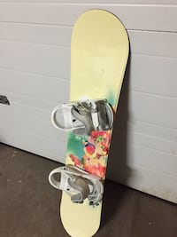 Firefly Snowboard with bindings