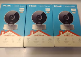D-Link HD Wi-Fi Indoor Security Camera