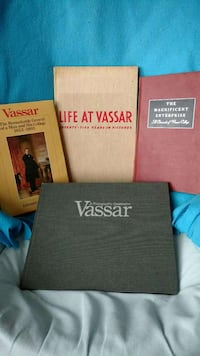First edition books on history of Vassar college