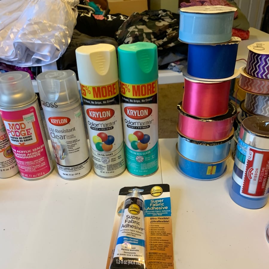 Lots of NEW and some used art supplies