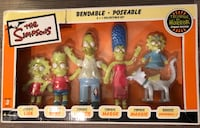 2003  NIB The Simpsons Bendable  Poseable Figures Tree House of Horrors Zombie Edition Maple Ridge, V2X 3W1