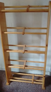 Wood Shoe Rack 2301 mi