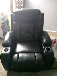 Black theater style recliner Raleigh, 27615