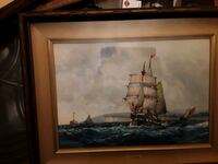 Absolutely Stunning Original ANTIQUE  F.J.Aldridge  Watercolor Paintin Mississauga, L5J 2E5