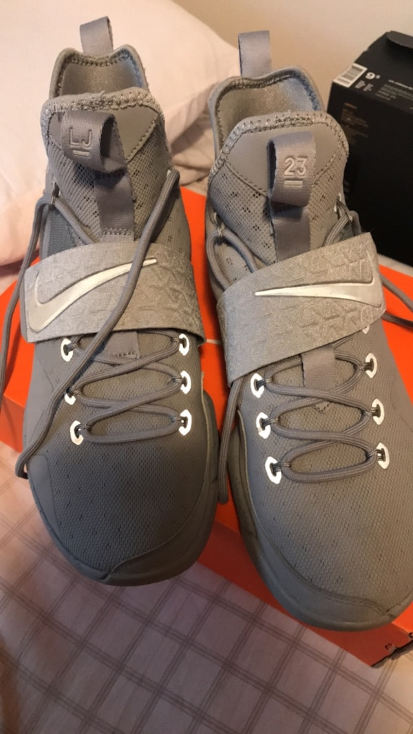 outlet store b46d1 ca11f Lebron 14 grey