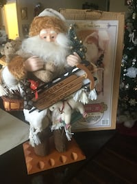 Grandeur Noel 2001 santa collection stands 16 inches tall sooo nice! Lincoln, 95648
