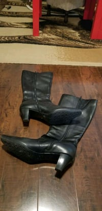 Leather boots, iflex Surrey, V3S 2W9