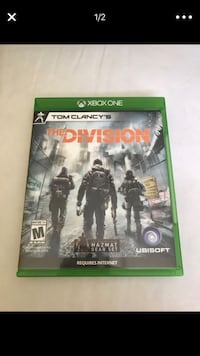 Xbox One Tom Clancy's The Division game case San Antonio, 78233