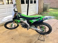 2009 Kawasaki KX250F  Washington, 20002