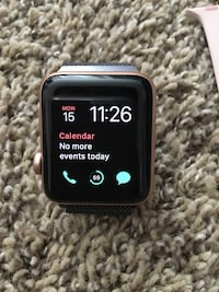 black Apple Watch with black sports band Boise, 83709