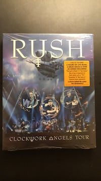 Brand New Rush in concert DVD West Chester, 19382