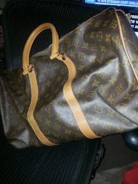 brown and beige leather Louis Vuitton tote bag Toronto, M6E 4V2