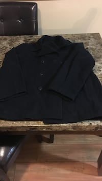 black 3-button blazer