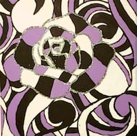 white and purple floral textile Charlotte, 28215