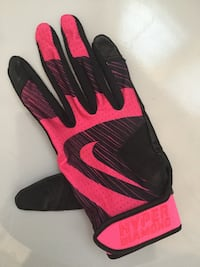Nike Hyperdiamond Edge Batting Glove - Black/Pink London, N6H 4W9