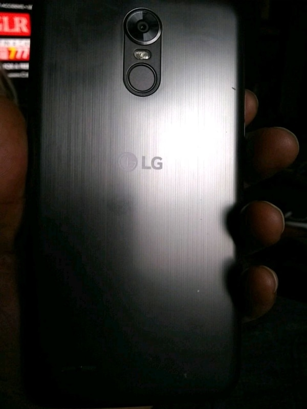 silver LG G3 android smartphone