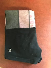 Black Lululemon shorts Camrose, T4V