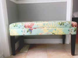Decorative bench! Great piece for any room