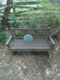 Lawn bench with Stone Fairfax, 22032