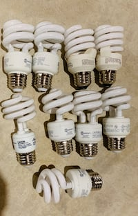 9 CFL Light Bulbs Plus  Avondale, 19311