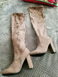 Light brown suede over the knee boots  Salinas, 93901