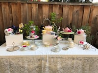 Tea Party items for Bday/bridal shower/baby shower San Lorenzo, 94580
